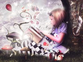 Alice in Wonderland by MakeMeMagical
