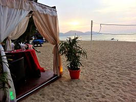 Beach at Golden Sands Shangri La Penang by lordmusan