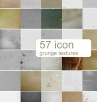 57 icon grunge textures by Kiho-chan