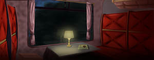 Hogwarts Express-Compartment by LeviathanDy