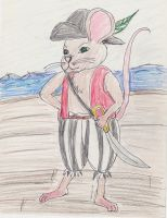 Pirate Mouse by Bethi-Kynna