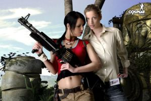 For the fans of Uncharted by cosplayerotica
