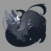 Feerlings ~ 7 : Goddess Nocteires by LunarAdopts
