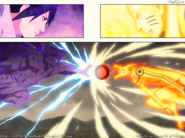Naruto 695 Two Forces Collide by IITheYahikoDarkII