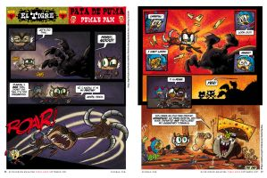El Tigre comic by mexopolis
