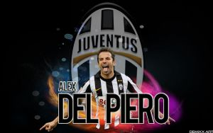 Wallpaper Alex Del Piero by DemixOne