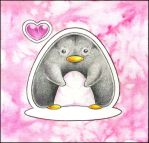 Pretty Pink Penguin by ffufi