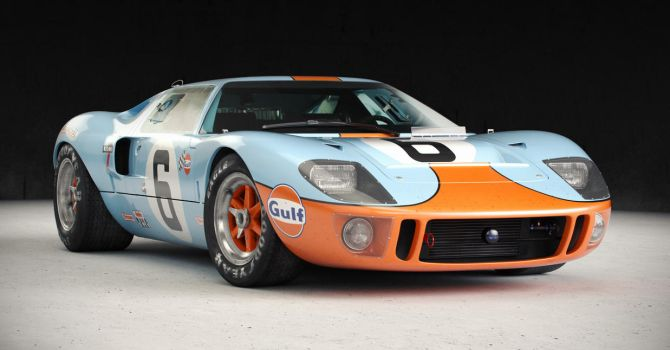 Ford GT40 (1968) Studio by Laffonte