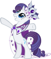 Queen Rarity by Kittita