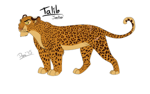 Leopard of the Jungle by DemiiDee