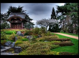 Japanese Garden by bale