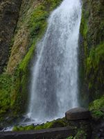 Waterfall Landscape Stock Pic by Enchantedgal-Stock