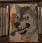 Inktober day 5 by SamColwell