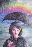 First the Rain then the Rainbow by dawndelver