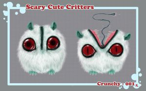 :SCARY CUTE CRITTERS 001: by UsagiSasami