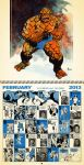 2nd Month, Feb. 2013 Retro Marvel Calender by dusty-abell