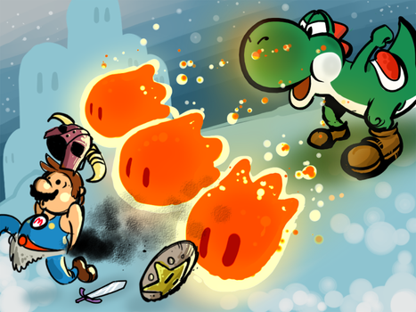 Skyrim meets Super Mario by NoBullet