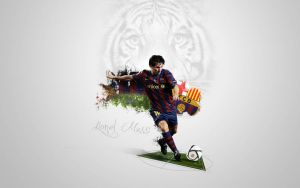 Lionel Messi by hama02player