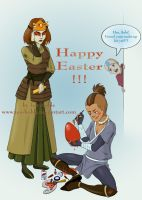 Avatar: Happy Easter by Teo-Hoble