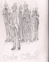 The Eleven Doctors by LivingAliveCreator