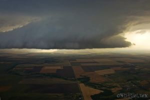 storms from a plane 2 by CRELLIOTT0302