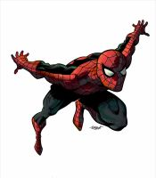 Spidey, with Colors by Karim by LostonWallace