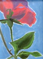 Flower Painting by RockinBassist73