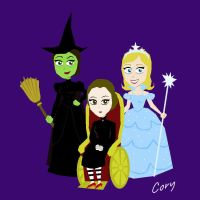 Witches of Oz by Cor104
