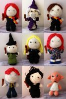 Harry Potter Dolls! by Nissie