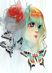 Butterflies Lines color by pho3nixdown