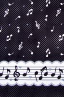 Music notes dots black by Yvette-chan
