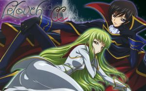 Lelouch and CC by EilanthaDelLago