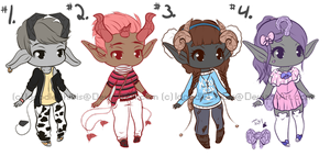 Jewellite Adopts {closed} by IdoodleChibis