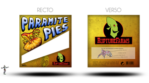 Paramite Pies packaging by LunarIceCream