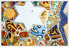 Patchwork Gaudi by ieatSTARS