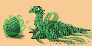 FOR SALE- Dragon Hatchling Adoptable -updated- by BahamutDeusModus