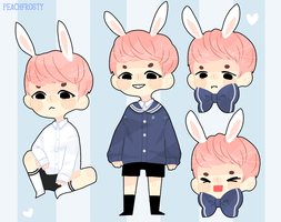 Yoongi Sticker Sheet by Lolibeat