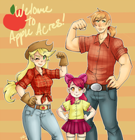Welcome to Apple Acres by rap1993