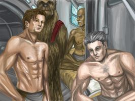 Kotor 1 Boys' Crew Quarters by PayRoo