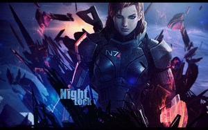Mass Effect (Female Shepard) by Synthasion