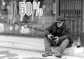 fifty per cent... by m-lucia