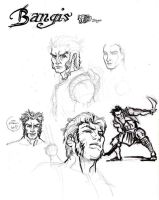 Bangis sketches by polidread