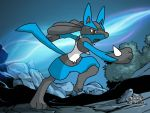 Lucario Graduate course by mgunnels3