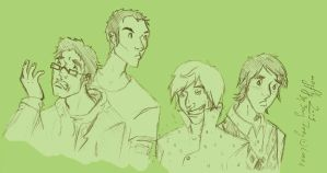 Big Bang Theory guys by mayflycrow