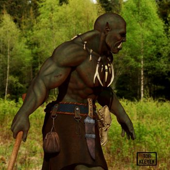 Gonlak-Orc of the forestlands. by Tor Kleve by TorMK