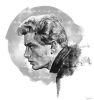James Dean by youngartt