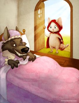 Little Red Riding Hood 3 by autogatos