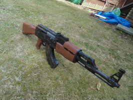 AK-47 YES THIS IS FINALLY FINISHED. by WeasleFire