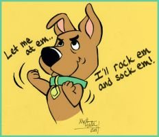 Scrappy Doo by nauticaldog