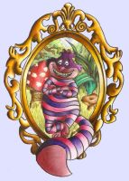 Cheshire Cat in Wonderland by oOLufiaOo
